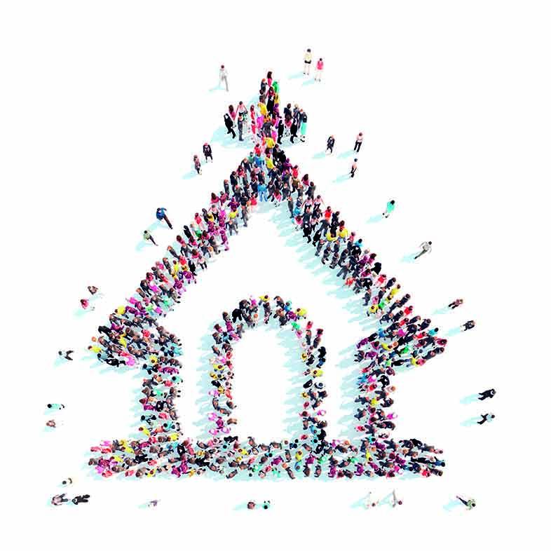 Kirke av mennesker