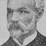 Bilde av redaktør og reisepredikant Falck, 1934.