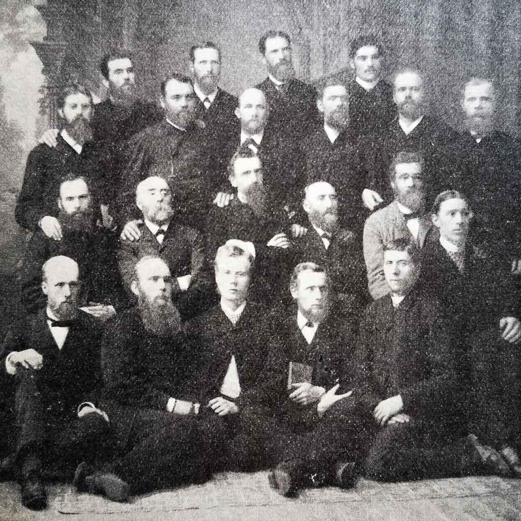 Foto historisk konferansen 1888 i Larvik.
