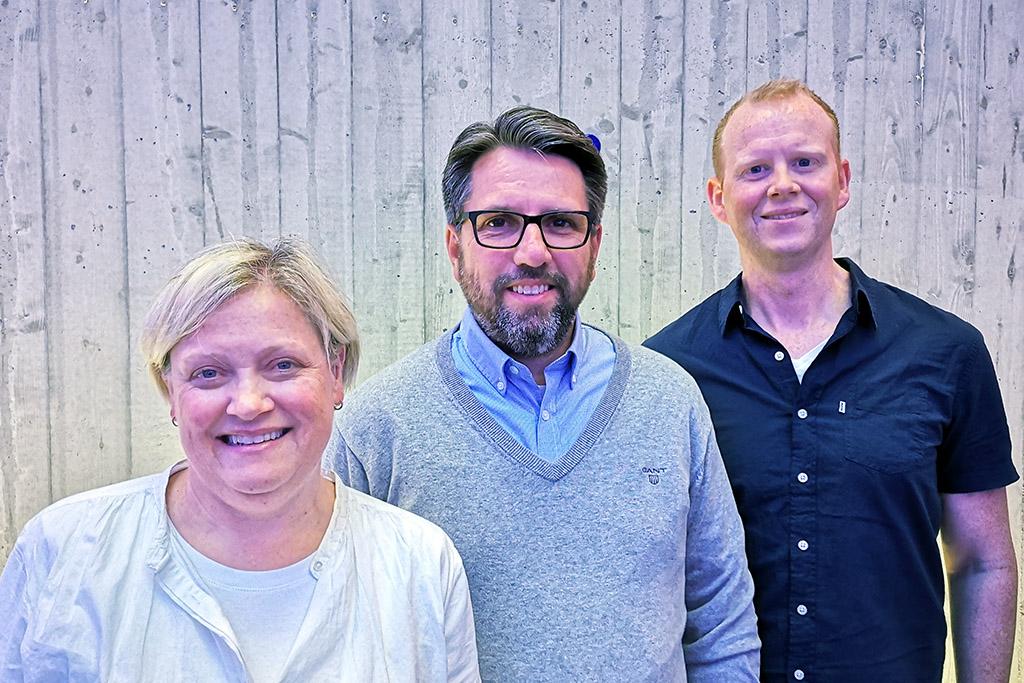 Foto av Breistein, Haraldseid og Nakkestad