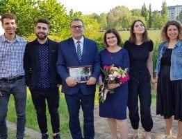 Pastor Jacek og hans familie i Lublin.