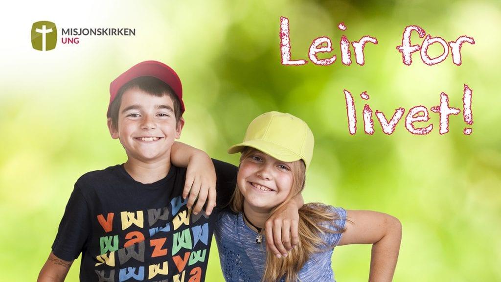 Link til UNG-kampanjen Leir for livet