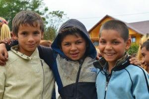 Tre unge gutter fra Onesti