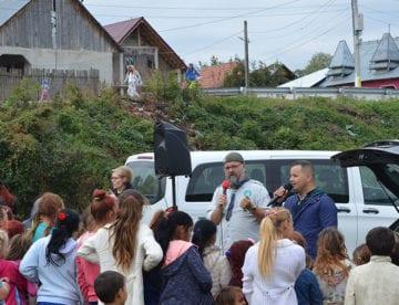 Møte fra bilen i Cont - Romania