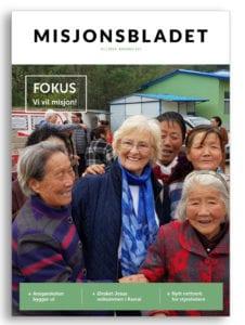 Link til å lese Misjonsbladet på issuu.com