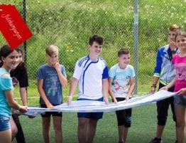 Ungdommer på sommerleir