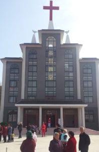 Kirkebygget i Luonan