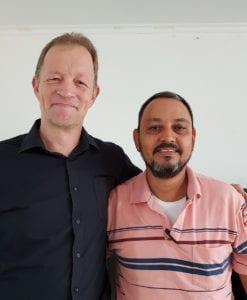 Jon-Arne Hoppestad og Luis Barrientos