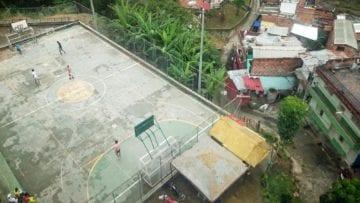 Fotballbane i Medellin