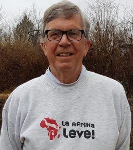Viggo Koch med La Kongo leve genser