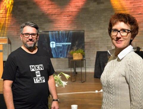 Rita Nottveit og Øivind Haraldseid