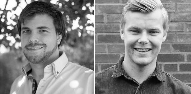 Avtroppende styreleder Tjersland og ny leder Voie