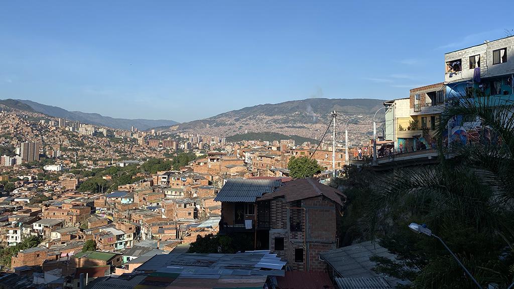 Panorama over Granizal