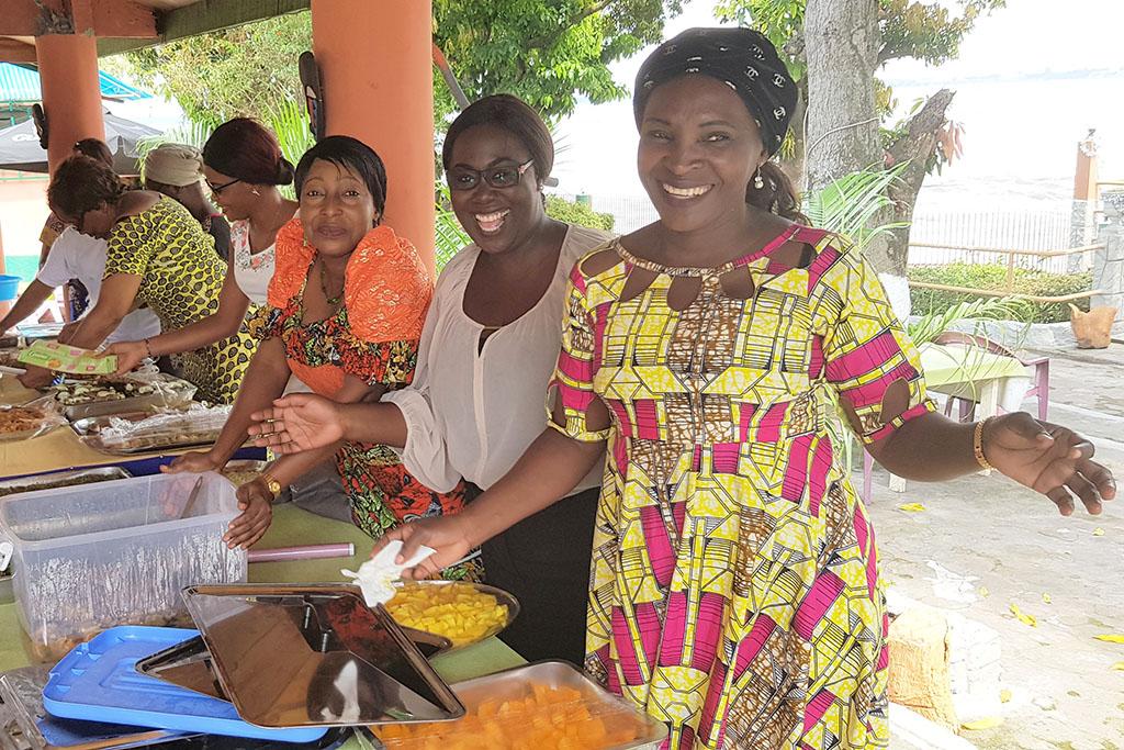 Foto av festen i Kongo.