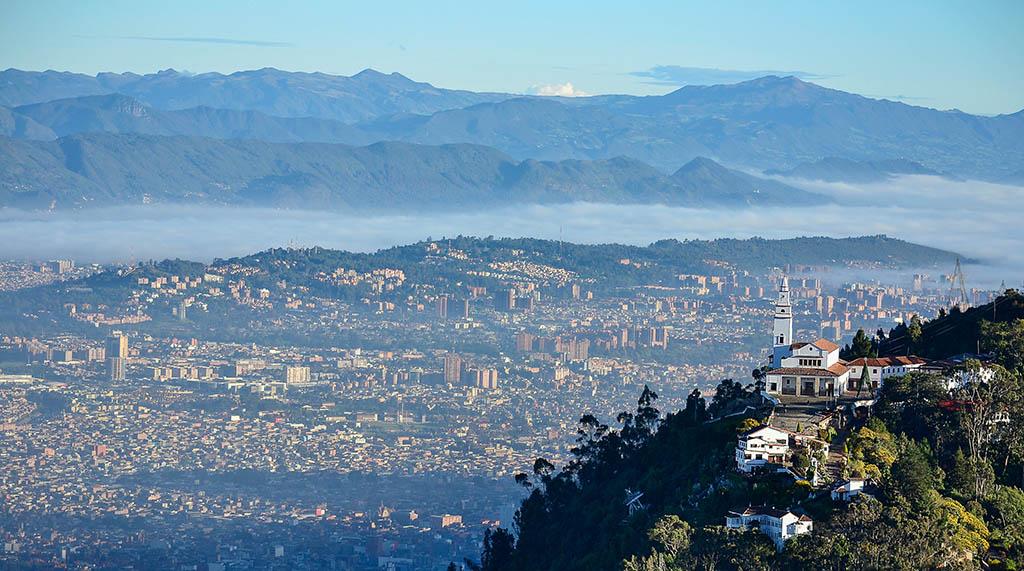 Oversiktsbilde Bogota